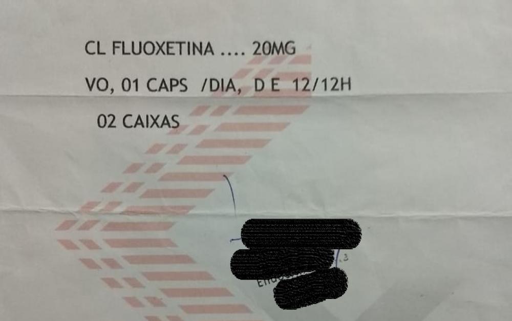 Um dos medicamentos que está em falta no CAPS