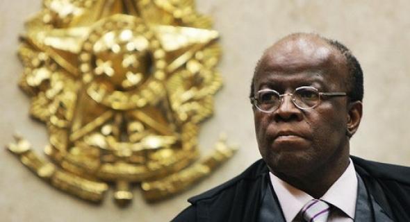 Ex-presidente do STF, Joaquim Barbosa