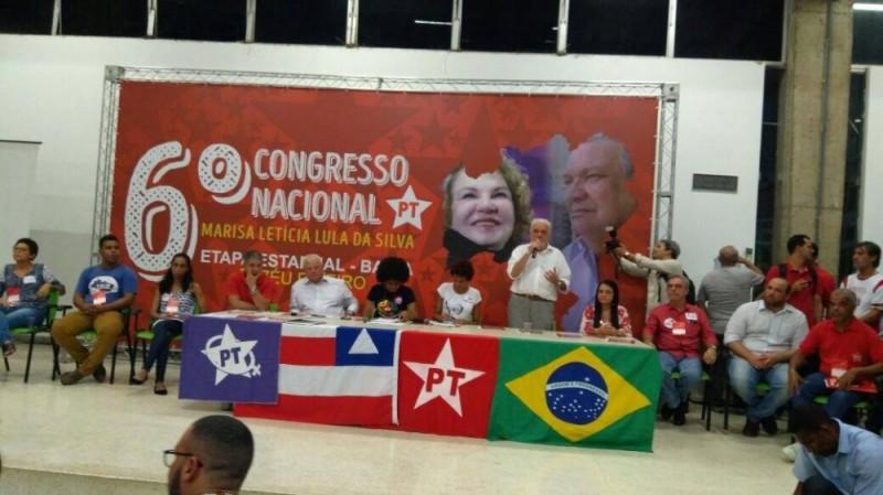 Congresso Estadual do PT Bahia