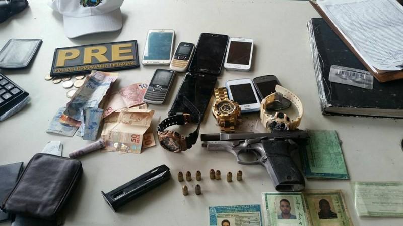 quadrilha que planejava assaltos em Alagoinhas