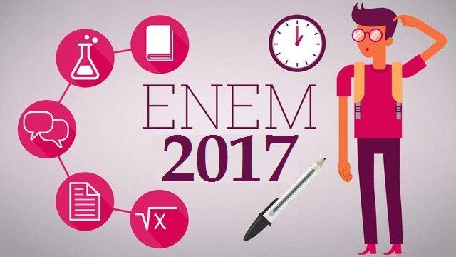 Gabarito oficial do Enem 2017 é divulgado; Confira