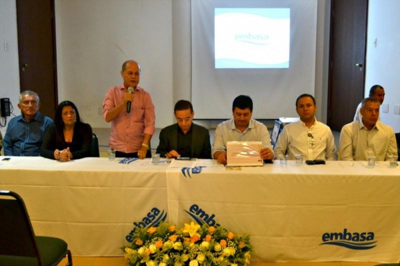 Municípios da região de Alagoinhas renovam contrato com a Embasa