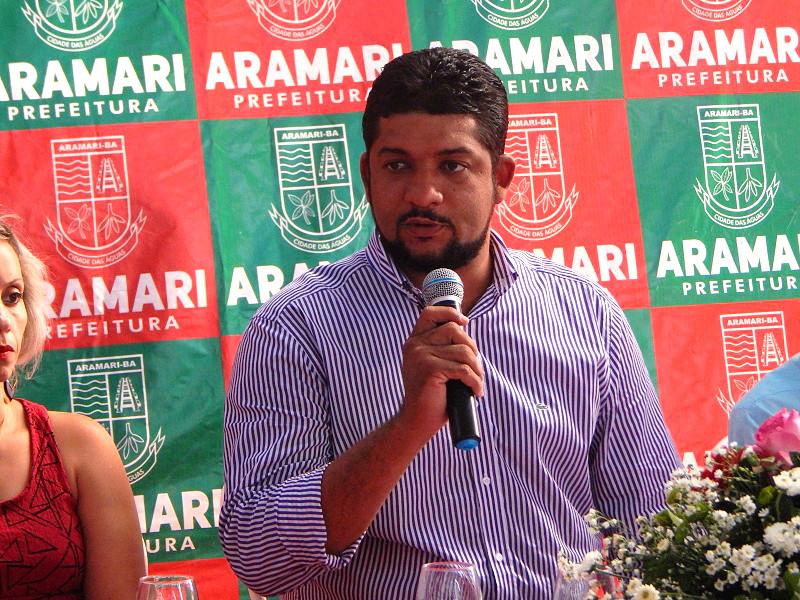 Fidel dantas prefeito de Aramari