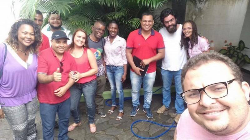 Militantes petistas se reúnem em Alagoinhas