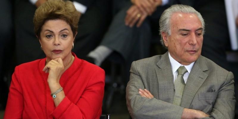 chapa Dilma-Temer