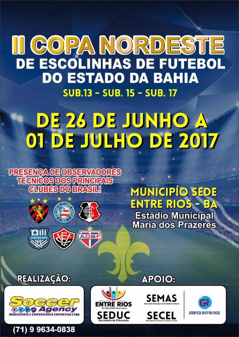 II Copa Nordeste reúne jovens até 17 anos em partidas de futebol amador