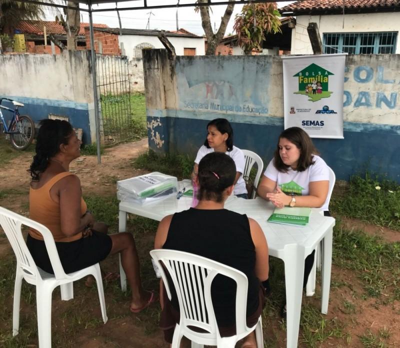 Bolsa Família Itinerante ao Riacho do Mel