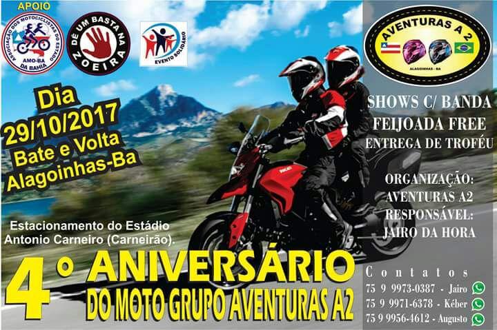 4° encontro de motociclistas em Alagoinhas