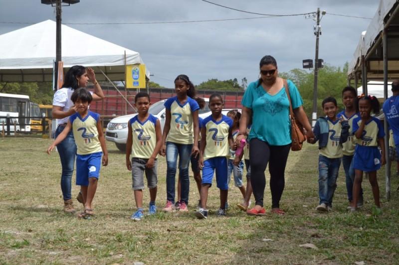 Expo Alagoinhas - Mais de 600 alunos da rede municipal visitam o Parque