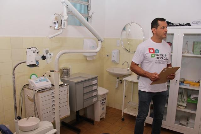 Ação simultânea fiscaliza 53 unidades de saúde e de ensino