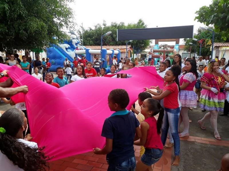 CRAS de Riacho da Guia abre comemorações do Natal das Famílias