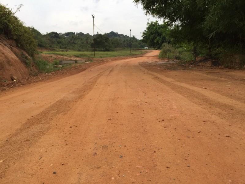 recuperação de estradas vicinais na zona rural de Alagoinhas