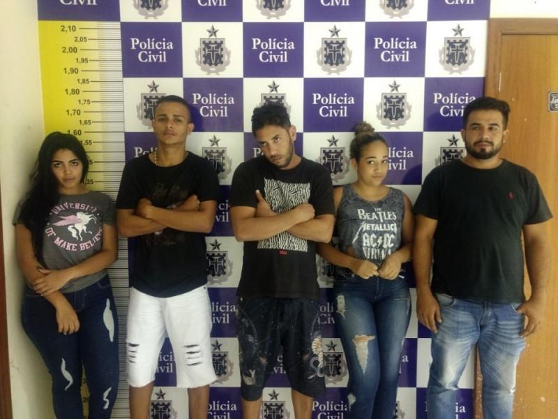 Com mais cinco prisões polícia encerra quadrilha de roubo a banco