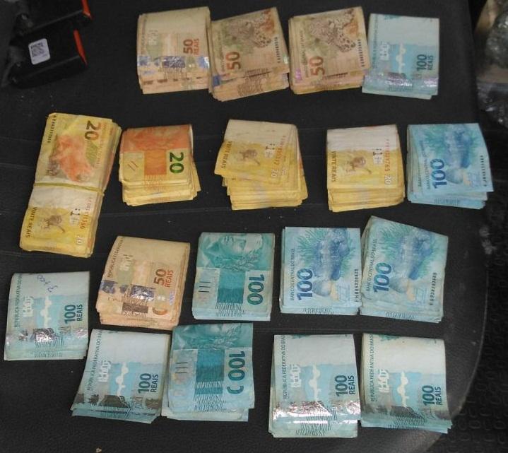 Cipe/Caatinga recupera quase R$ 20 mil após roubo a banco - Foto: Divulgação SSP