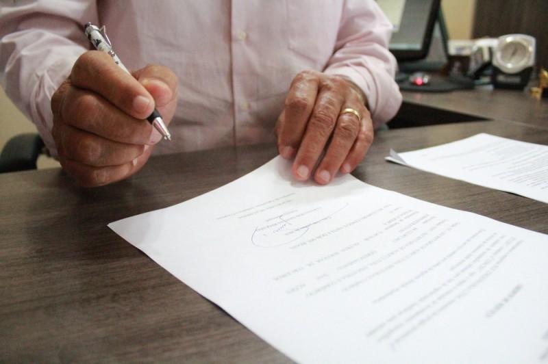 Prefeitura dar ordem de serviço para cadastro de regulamentação fundiária