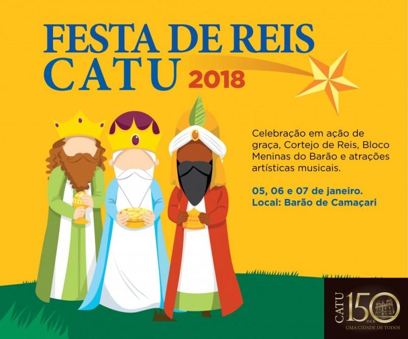Prefeitura de Catu realiza Festa de Reis