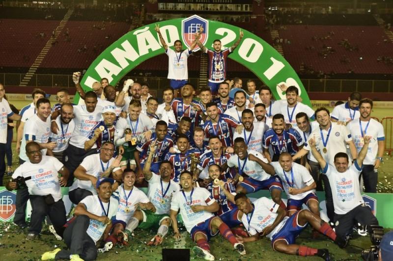 Bahia vence clássico e é campeão baiano de 2018
